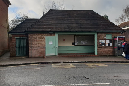 Closure of Bus Shelter and Public Toilets